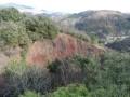 La coulée volcanique du volcan du Souilhol