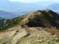 La crête de la Grande Montagne d'Arvillard