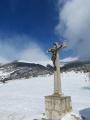 Le monolithe de Sardières au départ de la Croix d'Aussois