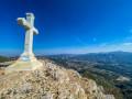 La croix du Garlaban