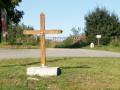 La croix et la borne