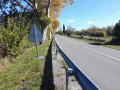 La D 926, route de Castres