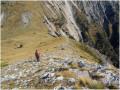La descente par le Col de La Baisse
