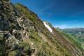 La descente vers le Col de Sarenne