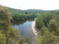 Voie verte de Carsac, la Dordogne et le site de Montfort