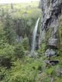 La grande cascade vue d'en haut