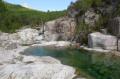 Les vasques du Cavu et le ruisseau de Sainte-Lucie