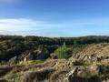 La lande au dessus de Rochefort