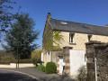 La maison de la rue du Bout au Mesnil et son superbe cèdre bleu