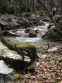 D'Allières à Saint Ange, ruisseau de la Pissarde et cascade d'Allieres