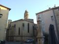 La place de la Révolution et le chœur de l'église Saint-Michel