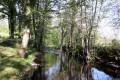 La rivière Abloux au site des Anciennes Forges