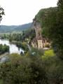 La Roque Gageac vue du chemin
