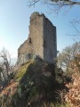 La ruine du château du Ramstein