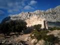 La ruine sur l'oppidum