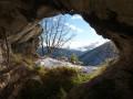 La sortie de la grotte