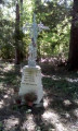Stèle du Bois de Courton depuis Nanteuil-la-Forêt