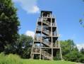 La tour au sommet du Mont Saint-Rigaud