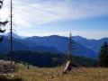 La vallée d'Abondance du pied du Mont Baron