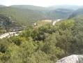 La vallée de l'Ibie vers le sud