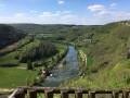 La vallée de la Loue depuis le belvédère du grand méandre
