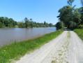 À partir de Sacé, les rives de la Mayenne
