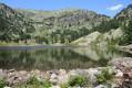 Le Lac Achard et le Plateau de l'Arselle à partir de la Croisette