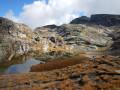 Pic de Caramantran et ses lacs depuis l'Agnel