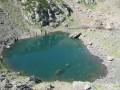 Lac d'Auseilla depuis le barrage du Tech