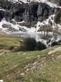 Lac d'Espingo depuis le refuge