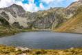 Le Lac d'Ilhéou par la Crête du Lys depuis le télésiège du Grand Barbat
