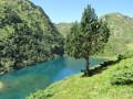 Lac de Bareilles en remontant vers le pic du Lion