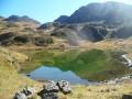 Lacs de Binaros depuis le Col de la Courade