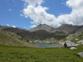 Le Col de l'Encombrette et ses lacs
