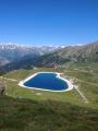 Le sentier des lacs et l'Aiguille Grive au départ des Arcs 2000