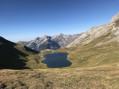 Lac de Lapazosa et pic de la Tendenera
