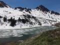 Lac de Lessy depuis Cullaz