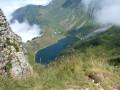 L'Aiguille Verte et le Lac de Lessy