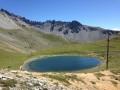 Lac de Souliers depuis Brunissard