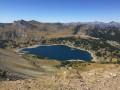 Lac des garrets lac d'Allos