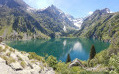 Le Lac du Lauvitel à partir de la Danchère