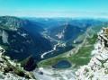 Lac du Lauzon au dessus du Col de Charnier