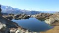 Lac du retour vu depuis le col du retour