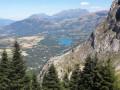 Le Col de l'Aup depuis la Chastre