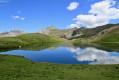 Lac Verdet à proximité du Col de la Bonette