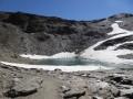 Lac sous le Col de la Lose