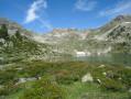 Lac Supérieur et Lac de l'Île depuis le Lac d'Aubert