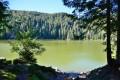 Lac vert au lac des truites