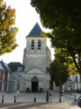 Lagny. L'abbatiale Notre Dame des Ardents