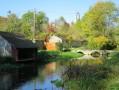 Le Canal du Loing et le passé médiéval de Château Landon